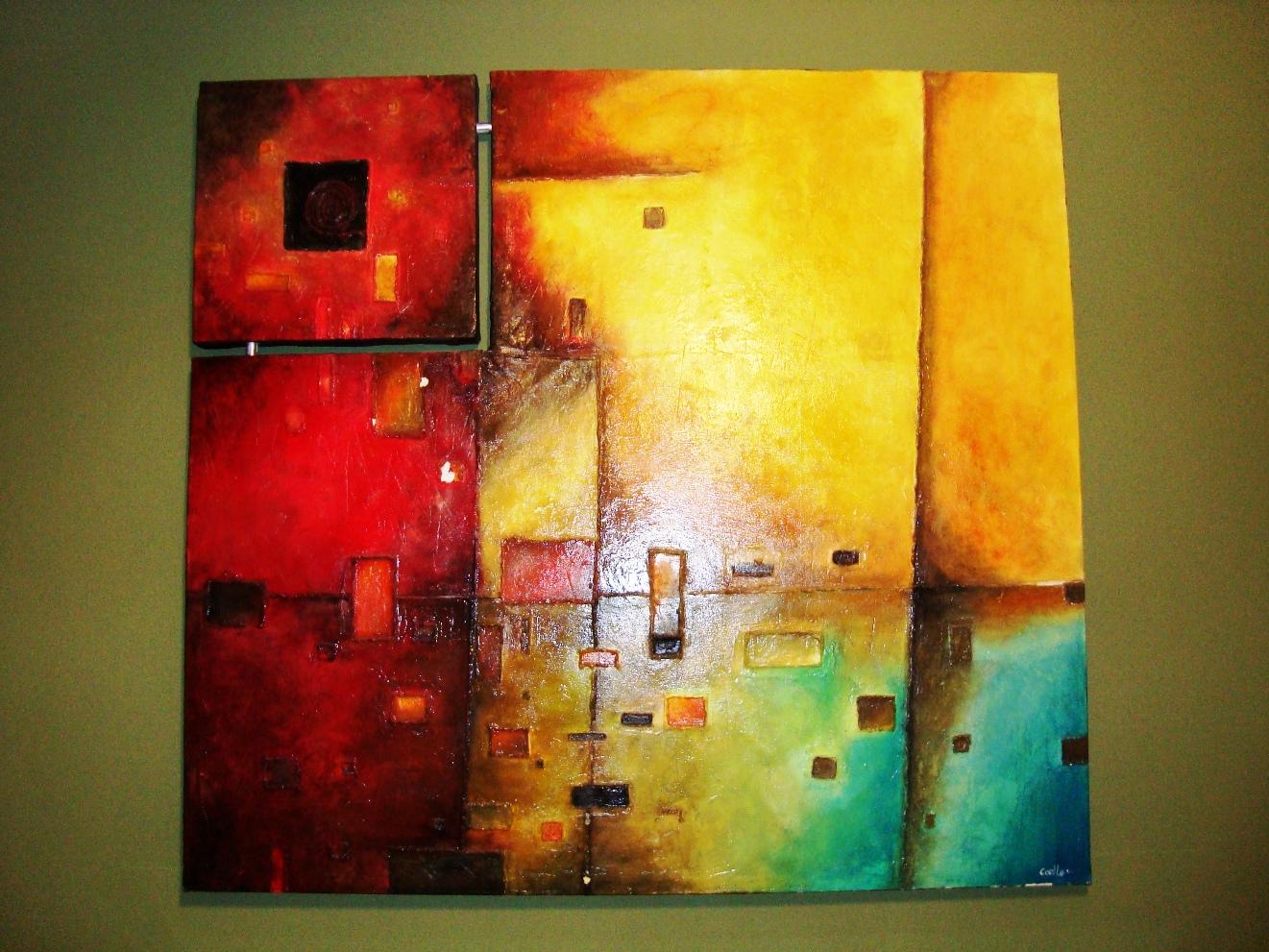 Pinturas contemporáneas